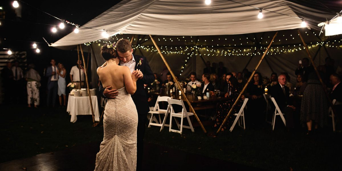 first-dance-with-tipi-maleny-Honest, natural, fun, romantic Natural-wedding-photography in brisbane queensland